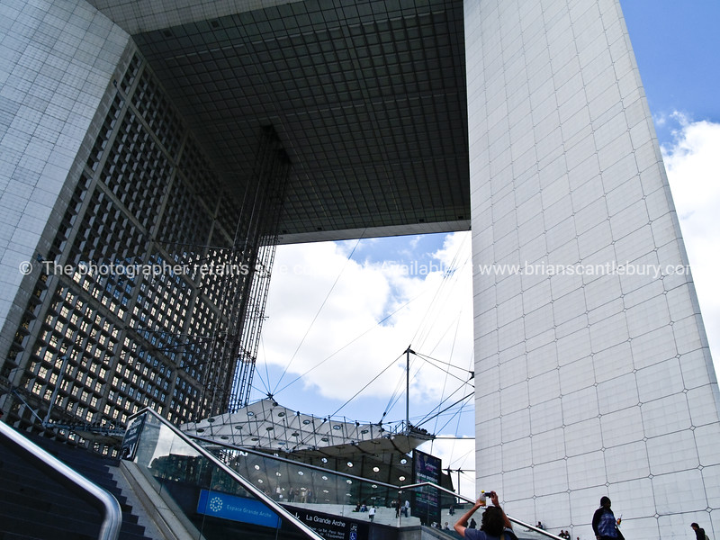 "The Grand Arch, La Defense, Paris, France. SEE ALSO:   <a href=""http://www.blurb.com/b/893039-paris-international-city"">http://www.blurb.com/b/893039-paris-international-city</a>"