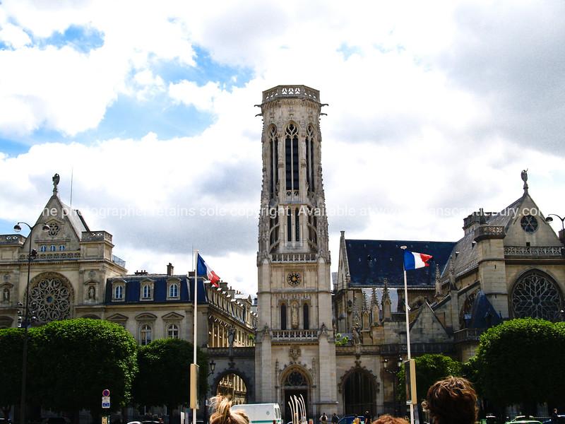 """Church Saint Gremain l'Auxerrois, Paris, International City. SEE ALSO:   <a href=""""http://www.blurb.com/b/893039-paris-international-city"""">http://www.blurb.com/b/893039-paris-international-city</a>"""