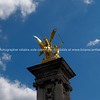 "Gold sculpture on tower, Pont alexandre 11, Paris, France. SEE ALSO:   <a href=""http://www.blurb.com/b/893039-paris-international-city"">http://www.blurb.com/b/893039-paris-international-city</a>"