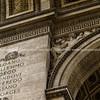 "Arc de Triomphe, architectural detail. Paris, France. SEE ALSO:   <a href=""http://www.blurb.com/b/893039-paris-international-city"">http://www.blurb.com/b/893039-paris-international-city</a>"