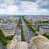 "Paris from top of Arc de Triomphe. Paris, France. SEE ALSO:   <a href=""http://www.blurb.com/b/893039-paris-international-city"">http://www.blurb.com/b/893039-paris-international-city</a>"
