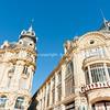 Buildings along Place de le Comedie including Beaux-Arts style Gaumont theater
