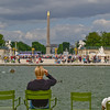 "Tuileries Garden, fountain pool and obelisque, Paris, International City. SEE ALSO:   <a href=""http://www.blurb.com/b/893039-paris-international-city"">http://www.blurb.com/b/893039-paris-international-city</a>"
