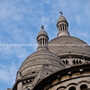 "Basilica Sacre Ceour, looking up at two of its domes, Paris, International City. SEE ALSO:   <a href=""http://www.blurb.com/b/893039-paris-international-city"">http://www.blurb.com/b/893039-paris-international-city</a>"