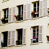 "Windows and window flower boxes, Paris, International City. SEE ALSO:   <a href=""http://www.blurb.com/b/893039-paris-international-city"">http://www.blurb.com/b/893039-paris-international-city</a>"