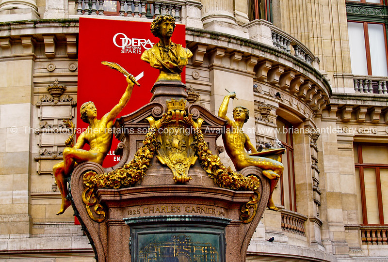 "Opera House, Paris, France. SEE ALSO:   <a href=""http://www.blurb.com/b/893039-paris-international-city"">http://www.blurb.com/b/893039-paris-international-city</a>"