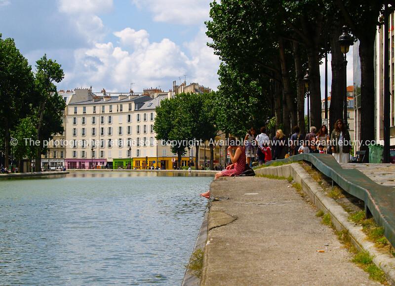 "Riverside, Paris, France. SEE ALSO:   <a href=""http://www.blurb.com/b/893039-paris-international-city"">http://www.blurb.com/b/893039-paris-international-city</a>"