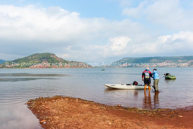 Lake Salagou