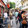 "Montmatre, crwoded street, Paris, International City. SEE ALSO:   <a href=""http://www.blurb.com/b/893039-paris-international-city"">http://www.blurb.com/b/893039-paris-international-city</a>"