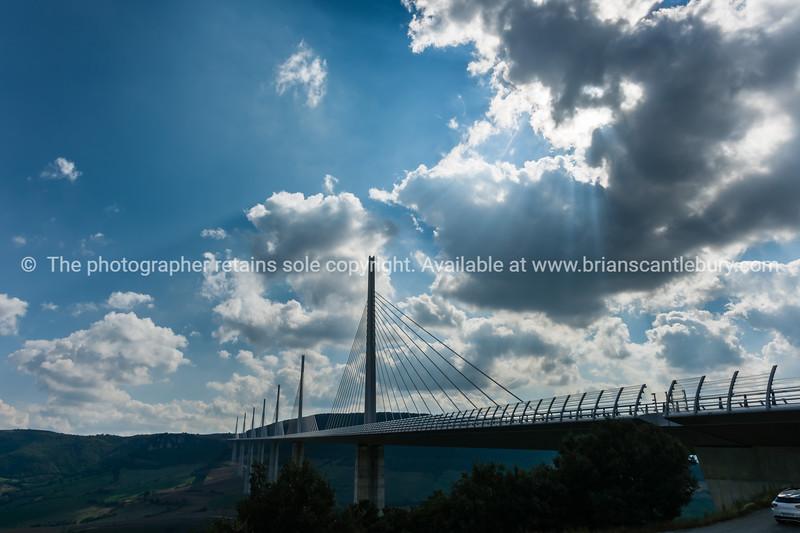 Millau Bridge France.