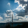 Millau Bridge France.