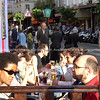 "Montmatre alfresco street view, Paris, France.<br /> Model released; no, for editorial & personal use. SEE ALSO:   <a href=""http://www.blurb.com/b/893039-paris-international-city"">http://www.blurb.com/b/893039-paris-international-city</a>"