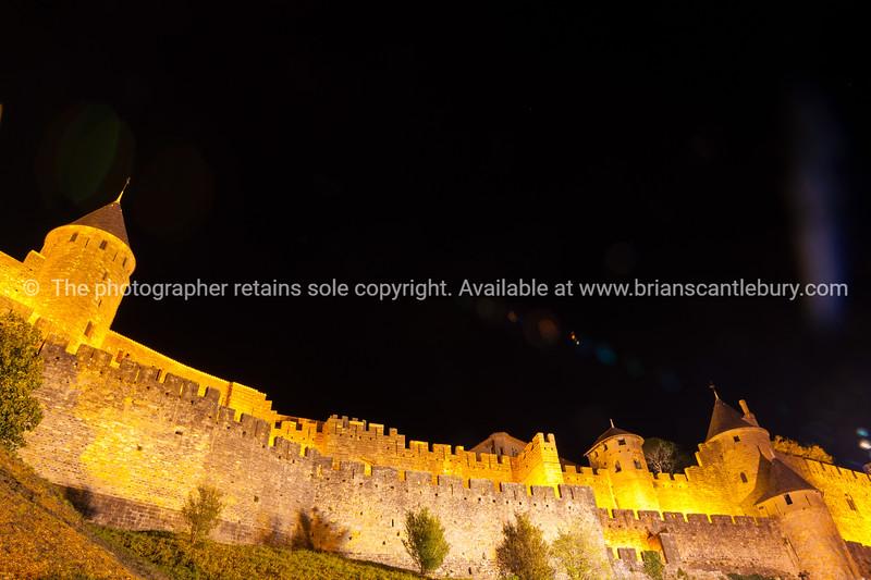 La Cite de Carcassonne, France