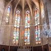 Interior church Collegiate Church of Saint-Étienne, Capestang, France