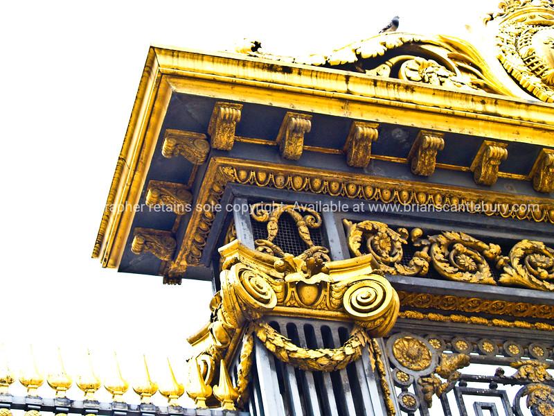 "Gold gate detail, Paris. SEE ALSO:   <a href=""http://www.blurb.com/b/893039-paris-international-city"">http://www.blurb.com/b/893039-paris-international-city</a>"