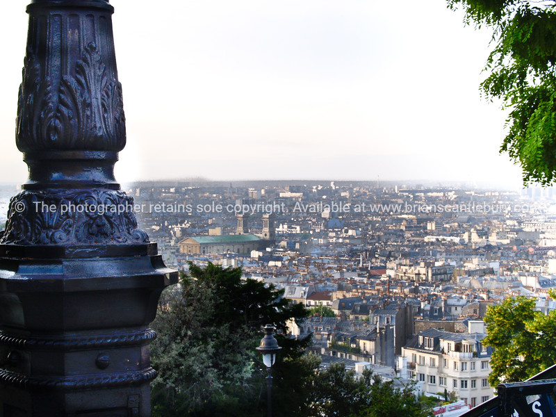 "View of City, from Montmatre, Paris, International City. SEE ALSO:   <a href=""http://www.blurb.com/b/893039-paris-international-city"">http://www.blurb.com/b/893039-paris-international-city</a>"