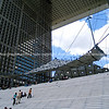 "Steps of Le Grande Arche, Paris, France. SEE ALSO:   <a href=""http://www.blurb.com/b/893039-paris-international-city"">http://www.blurb.com/b/893039-paris-international-city</a>"