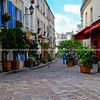 "Cobbled streets and colourful architecture of Montmatre, Paris. SEE ALSO:   <a href=""http://www.blurb.com/b/893039-paris-international-city"">http://www.blurb.com/b/893039-paris-international-city</a>"