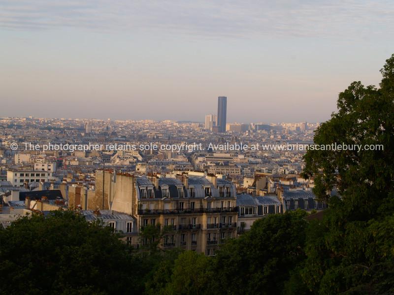 "Paris, a view from Montmatre. SEE ALSO:   <a href=""http://www.blurb.com/b/893039-paris-international-city"">http://www.blurb.com/b/893039-paris-international-city</a>"