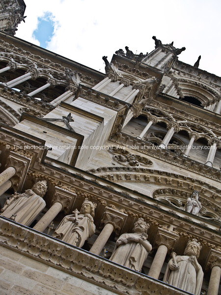 """Notre dame cathedral architecture, close-up. Paris, International City. SEE ALSO:   <a href=""""http://www.blurb.com/b/893039-paris-international-city"""">http://www.blurb.com/b/893039-paris-international-city</a>"""