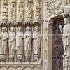 "Notre dame, Carved facade close-up, Paris, International City. SEE ALSO:   <a href=""http://www.blurb.com/b/893039-paris-international-city"">http://www.blurb.com/b/893039-paris-international-city</a>"