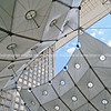 "Sculptural clouds with Le Grande Arche arch, Le defense, Paris, France. SEE ALSO:   <a href=""http://www.blurb.com/b/893039-paris-international-city"">http://www.blurb.com/b/893039-paris-international-city</a>"