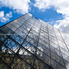 "Louvre, glass pyramide, Paris, International City. SEE ALSO:   <a href=""http://www.blurb.com/b/893039-paris-international-city"">http://www.blurb.com/b/893039-paris-international-city</a>"