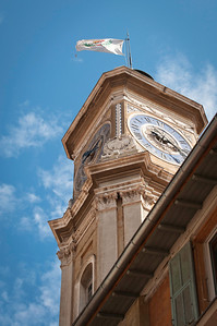 Clock tower.
