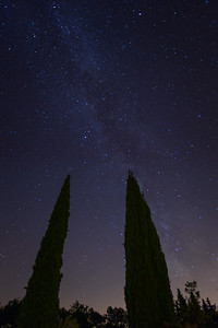 The Milky Way in Provence