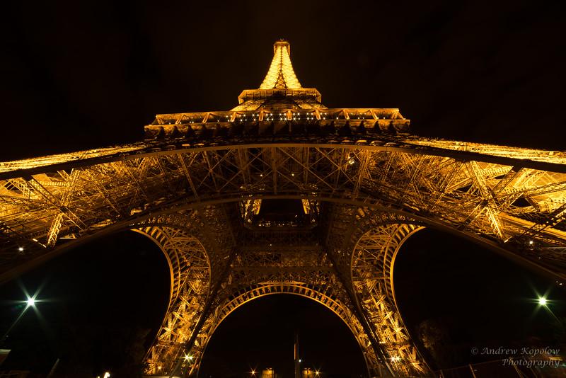 Eiffel After Dark