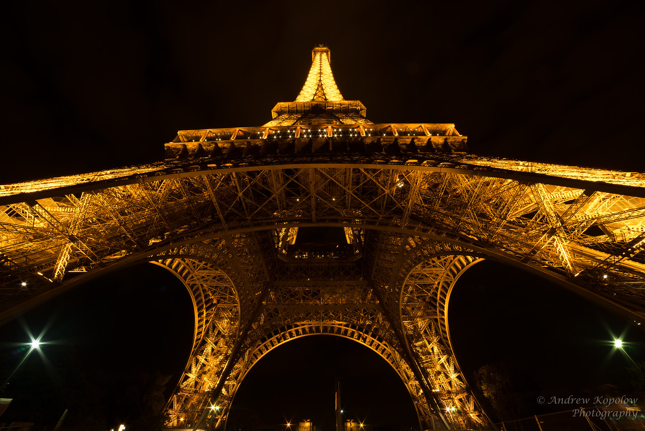 Eiffel After Dark