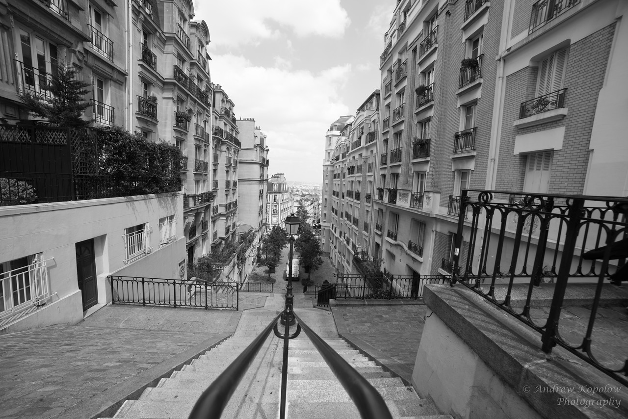 Just Behind the Sacré-Cœur