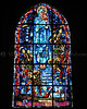 Church Window at Saint-Mere Eglise, Normandy - In Thanks of American Liberators