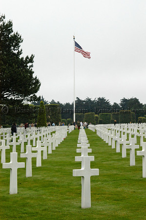 American Cemetary, 61st Anniversary, D-Day, Normandy, 2