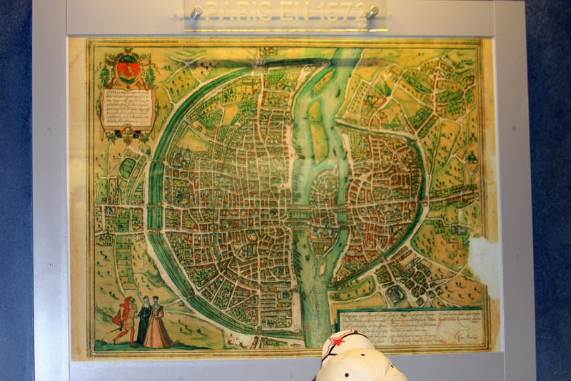 Paris in 1572 From the top of Montparnasse