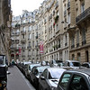 Typical Paris street