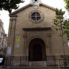 This is the church Barbara attended when she lived in Paris.