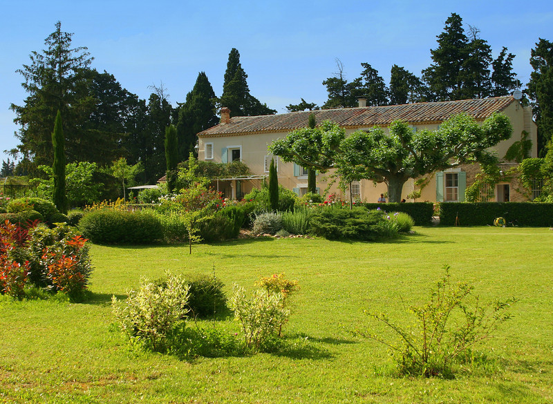 Mas Minka_1013; A classically restored farmhouse in Provence.