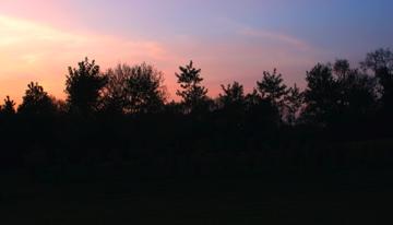 Sunset at La Gravelle