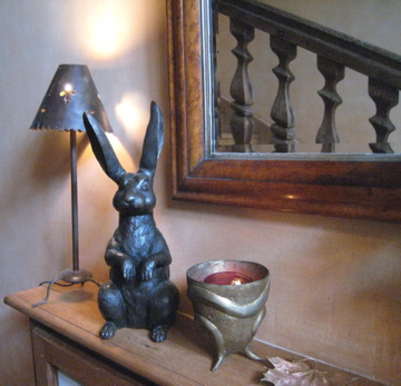 Lamp and Rabbit