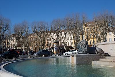 La Rotonde. Aix en Provence