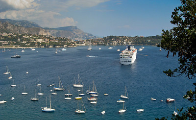 Villefranche Bay - South France