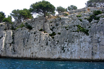 Limestone cliffs near Cassis