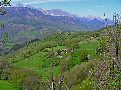 Along the route from Annecy to Sisteron