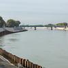 Erosion defences - Rhone - during quayside renovations