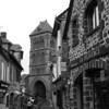 Salers, precioso pueblo de piedra en el dentro del Cantal, uno de los departamentos de la región de Auvergne.
