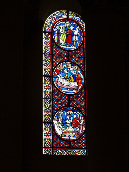 Cristalera de la iglesia de Saint Nectaire