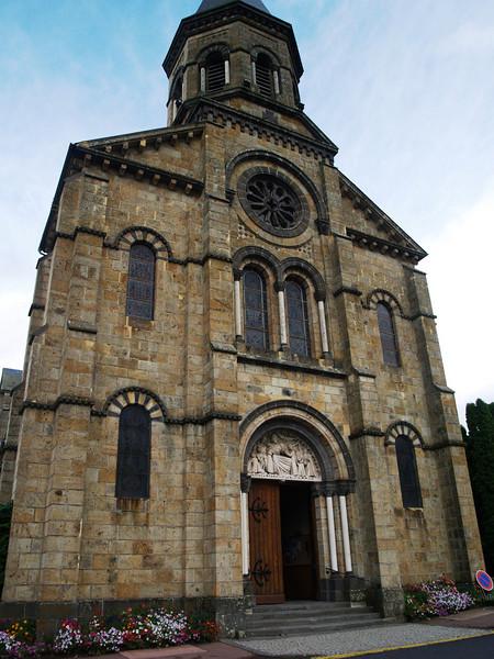 Iglesia de La Bourboule