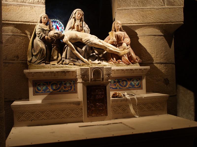 Representación en la iglesia de St Saturnin