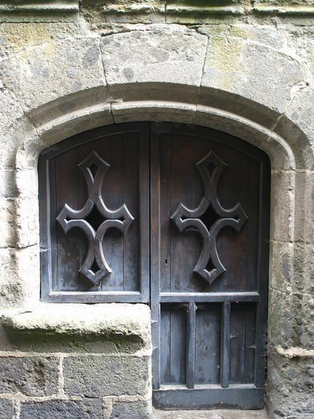 Puerta en Salers